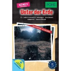 Dominic Butler: PONS Unter der Erde - 13 lebilincselő bűnügyi történet németül tanulóknak