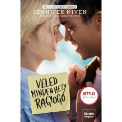 Jennifer Niven: Veled minden hely ragyogó - Filmes borítóval