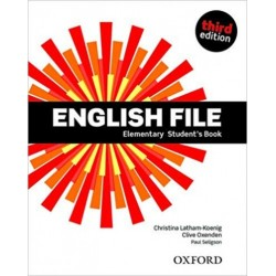 Christina Latham-Koenig - Clive Oxenden - Paul Seligson: English File Elementary Student's Book - Third edition
