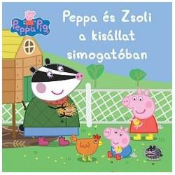 Peppa malac - Peppa és Zsoli a kisállat simogatóban