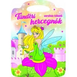 Tündéri hercegnők - Versikés kifestő