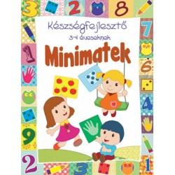 Minimatek - Készségfejlesztő 3-4 éveseknek