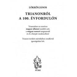 Lőkkös János: Trianonról a 100. évfordulón