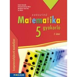 Sokszínű matematika gyakorló 5. - 2. kötet - (MS-2266U)