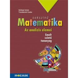 Schlegl István - Trembeczki Csaba: Sokszínű matematika - Az analízis elemei - Tankönyv - Emelt szint (MS-2313)
