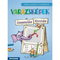 Tariné Berkes Judit Katalin: Varázsképek - Összeadás/kivonás - Játékos gyakorló munkafüzet az 1-2. évolyam számára (MS-1553U)