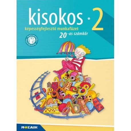 Lázár Kálmánné: Kisokos 2. - 20-as számkör - Képességfejlesztő munkafüzet - MS-1542V