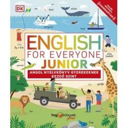 English for Everyone Junior - Angol nyelvkönyv gyerekeknek - Kezdő szint