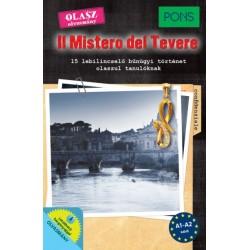 Dominic Butler: PONS Il Mistero del Tevere - 15 lebilincselő bűnügyi történet olaszul tanulóknak