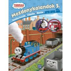 Thomas, a gőzmozdony - Mozdonykalandok 5. - Komisz kocsik, Charlie, Bertie