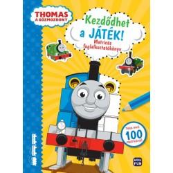 Thomas, a gőzmozdony - Kezdődhet a játék - Matricás foglalkoztatókönyv