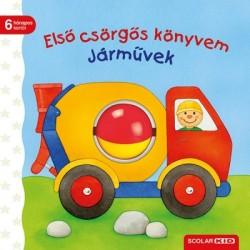 Sandra Grimm: Első csörgős könyvem - Járművek