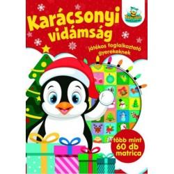 Karácsonyi vidámság - Játékos foglalkoztató gyerekeknek