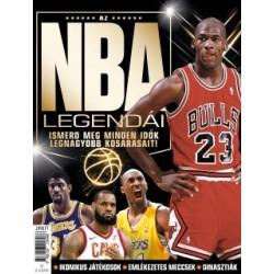 Az NBA legendái - Ismerd meg minden idők legnagyobb kosarasait!