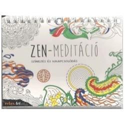Zen meditáció - Színezés és kikapcsolódás
