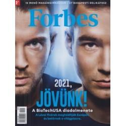 Forbes - 2021. január - 2021, Jövünk!