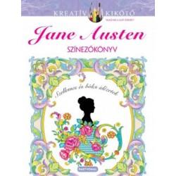 Marty Noble: Jane Austen - Színezőkönyv