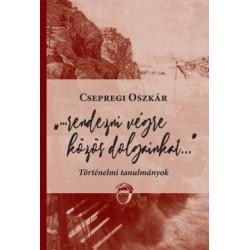 Csepregi Oszkár: Rendezni végre közös dolgainkat... - Történelmi tanulmányok
