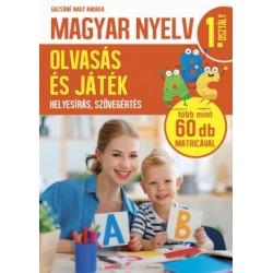 Gazsóné Nagy Andrea: Magyar nyelv 1. osztály - Olvasás és játék