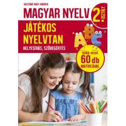 Gazsóné Nagy Andrea: Magyar nyelv 2. osztály - Játékos nyelvtan