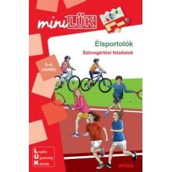 Élsportolók 3-4. osztály - LDI-266 - Szövegértési feladatok - miniLÜK