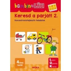 Keresd a párját! 2. - LDI-111 - Koncentrációfejlesztő feladatok - BambinoLÜK