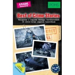 Dominic Butler: PONS Best of Crime Stories - Válogatás a legjobb bűnügyi történetekből - 15 rövid krimi angolul tanulóknak