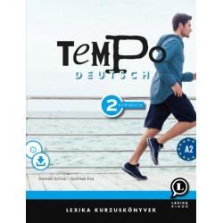 Gottlieb Éva, Dömők Szilvia: Tempo Deutsch 2 - Kursbuch A2 - CD melléklettel + letölthető hanganyaggal