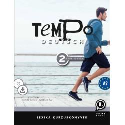 Gottlieb Éva, Dömők Szilvia: Tempo Deutsch 2 - Arbeitsbuch A2 - CD melléklet + letölthető hanganyag