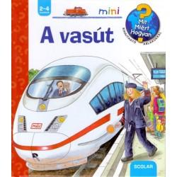 Andrea Erne: A vasút - Mit? Miért? Hogyan? - Kihajtható ablakokkal