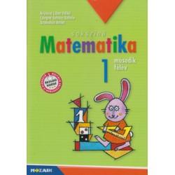 Árvainé Libor Ildikó, Juhász, Szabados Anikó: Sokszínű matematika - Munkatankönyv 1. osztály II. félév - MS-1712U
