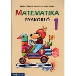 Urbán Mónika, Ratkóczy Gáborné, Szelczi Ivett: Matematika gyakorló 1. osztály