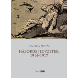 Ambrus Zoltán: Háborús jegyzetek, 1914-1917