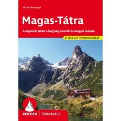 Magas-Tátra Rother túrakalauz - A legszebb túrák a hegység szlovák és lengyel oldalán