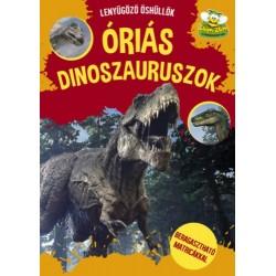 Óriás Dinoszaurszok - Beragasztható matricákkal