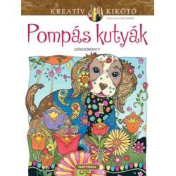 Sarnat Marjorie: Pompás kutyák - Színezőkönyv