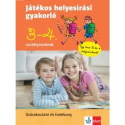 Petik Ágota: Játékos helyesírási gyakorló 3. és 4. osztályosoknak