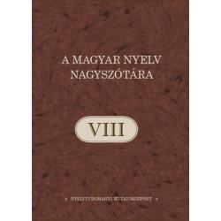 A magyar nyelv nagyszótára VIII.kötet - EZ-EM