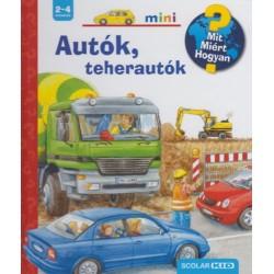 Ursula Weller: Autók, teherautók - MIT? MIÉRT? HOGYAN? MINI 4.