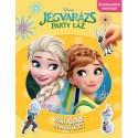 Disney - Matricás mókafüzet: Jégvarázs - Party láz