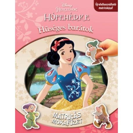 Disney Hercegnők - Matricás mókafüzet: Hófehérke