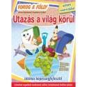 Utazás a világ körül - Forog a Föld! - Játékos képességfejlesztő színes matricákkal