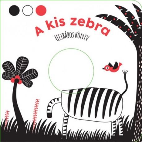 A kis zebra - Ujjbábos könyv