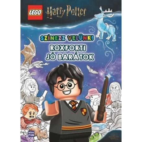 Lego Harry Potter - Színezz velünk! - Roxforti jó barátok
