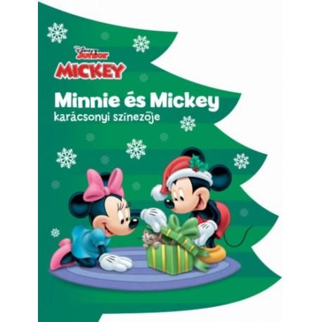 Disney - Minnie és Mickey karácsonyi színezője