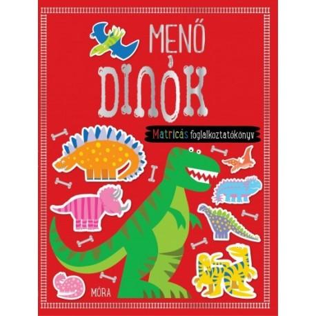 Menő dinók: matricás foglalkoztatókönyv