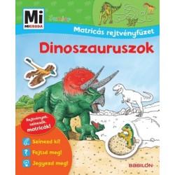 Monika Ehrenreich: Mi micsoda Junior Matricás rejtvényfüzet - Dinoszauruszok