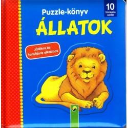 Puzzle-könyv - Állatok