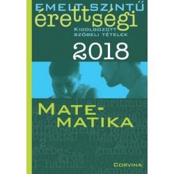 Siposs András: Emelt szintű érettségi - Matematika 2018