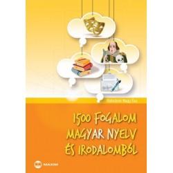Palotásné Nagy Éva: 1500 fogalom magyar nyelv és irodalomból